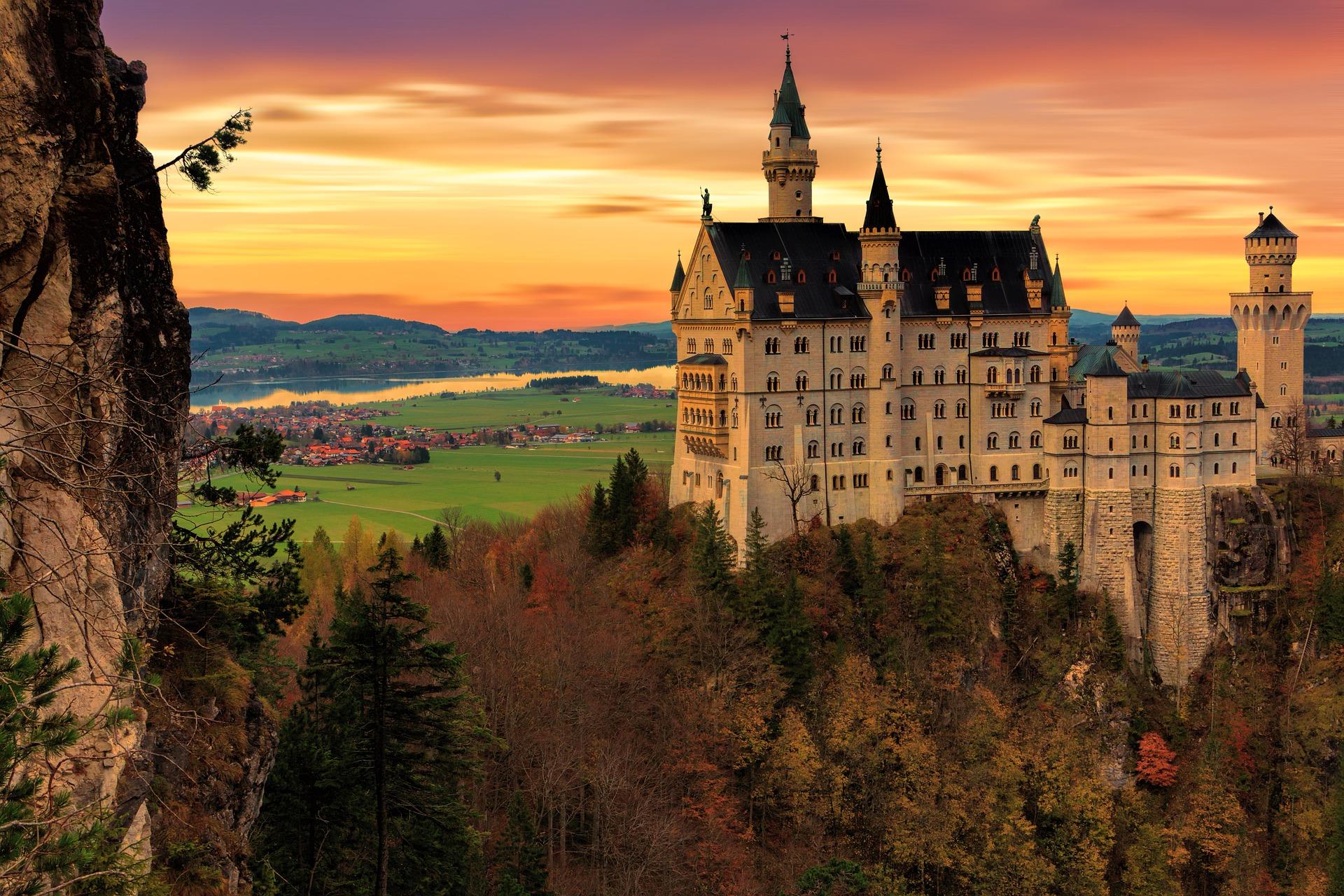 Tres lugares dignos de un cuento de hadas en Alemania.