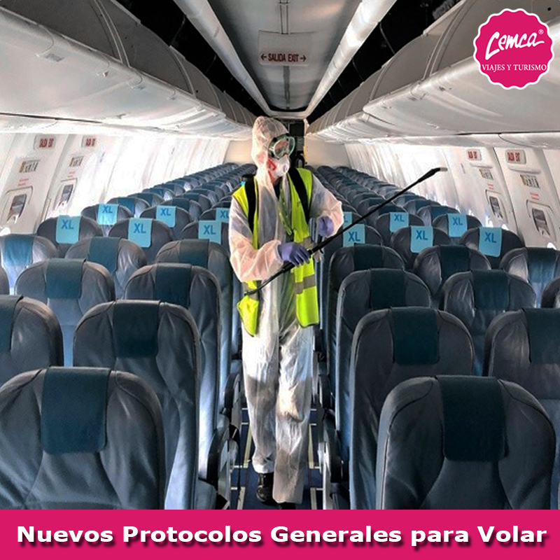 Nuevos Protocolos Generales para Volar después desde COVID-19
