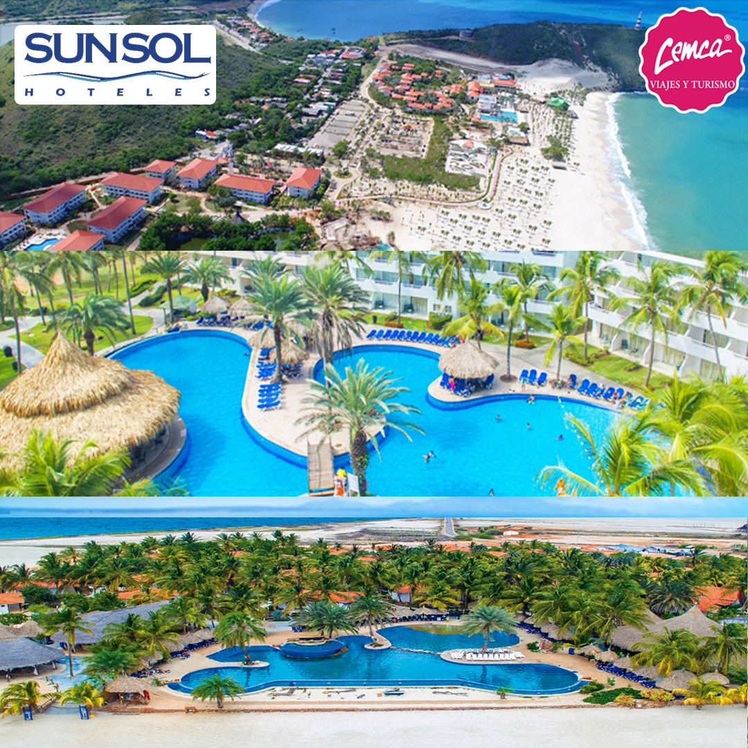 Disfruta los mejores paquetes de la cadena SUNSOL hoteles en Margarita